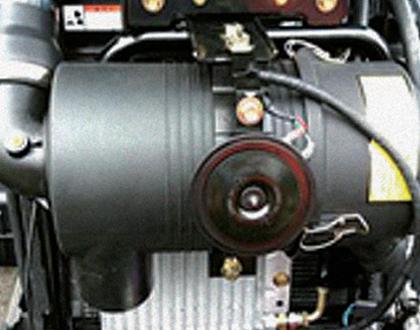 Трактор LS U60 GEAR CAB - Воздушный фильтр большой емкости