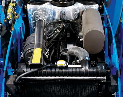 Минитрактор Mitsubishi LS J27 GEAR - Дизельный двигатель Mitsubishi жидкостного охлаждения