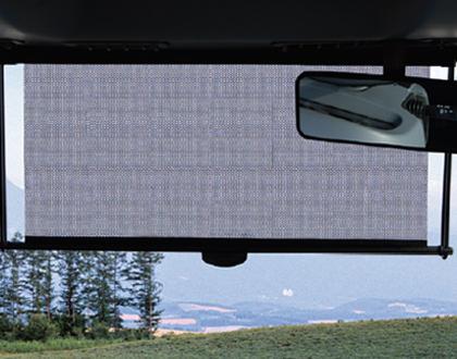 Трактор LS PLUS 90 CABIN - Передняя солнцезащитная шторка (только для моделей CABIN)