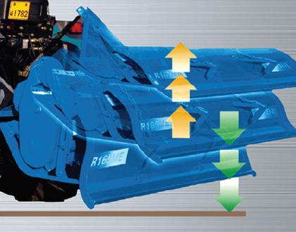 Минитрактор Yanmar LS MT1.25 HST - Автоматическое включение / выключение ВОМ