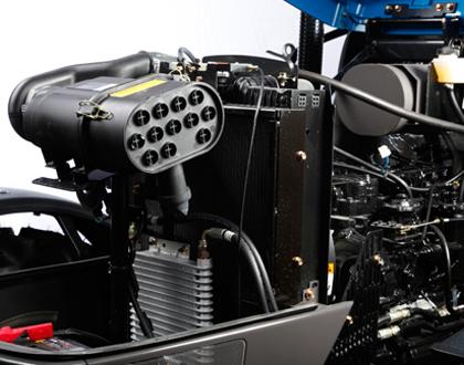 Трактор LS PLUS 90 CABIN - Усовершенствованная система очистки воздуха