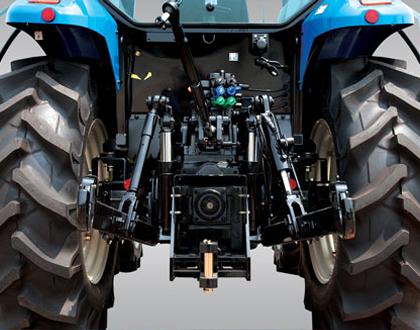 Трактор LS MT 5.73 - Внешний вторичный гидроцилиндр