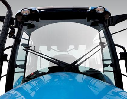 Трактор LS MT 5.73 - Стеклоочиститель с двумя щетками