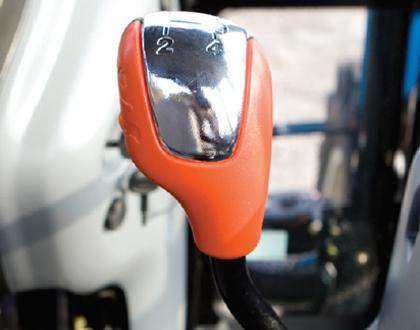Трактор LS PLUS 90 CABIN - Главный рычаг переключения передач
