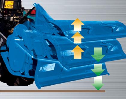 Трактор Mitsubishi LS R41 GEAR ROPS - Автоматическое выключение ВОМ