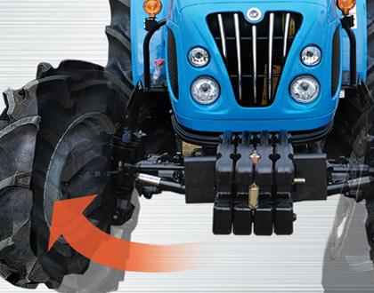 Трактор Mitsubishi LS R41 GEAR ROPS - Высокая производительность в узких местах