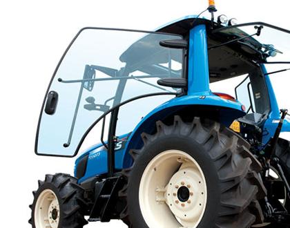 Трактор LS MT 5.73 - Отличный обзор с 4-стоечной кабиной