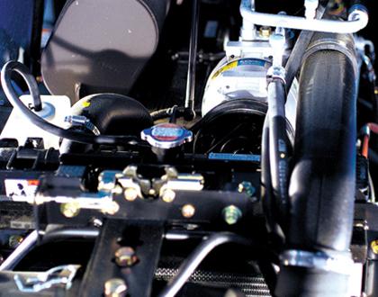 Трактор LS U60 GEAR CAB - Новый двигатель с прямым впрыском