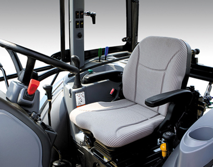 Трактор LS U60 GEAR CAB - Рычаги управления