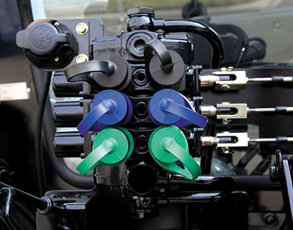 Трактор LS PLUS 90 CABIN - Гидроклапаны