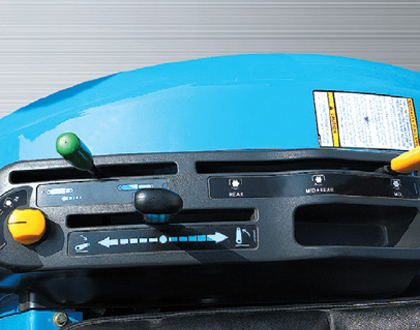 Минитрактор Mitsubishi LS J27 GEAR - Эргономичная система управления